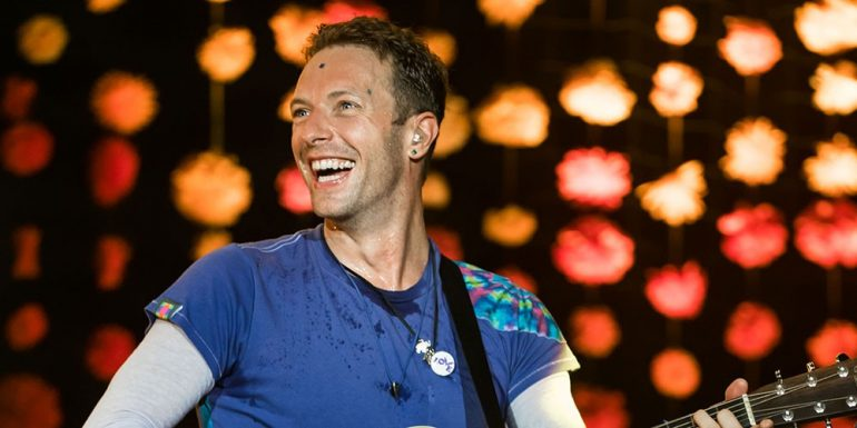 Los hijos de Chris Martin le roban el show a Coldplay en Glastonbury
